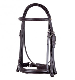 Weymouth Crank bridle (w/double reins)
