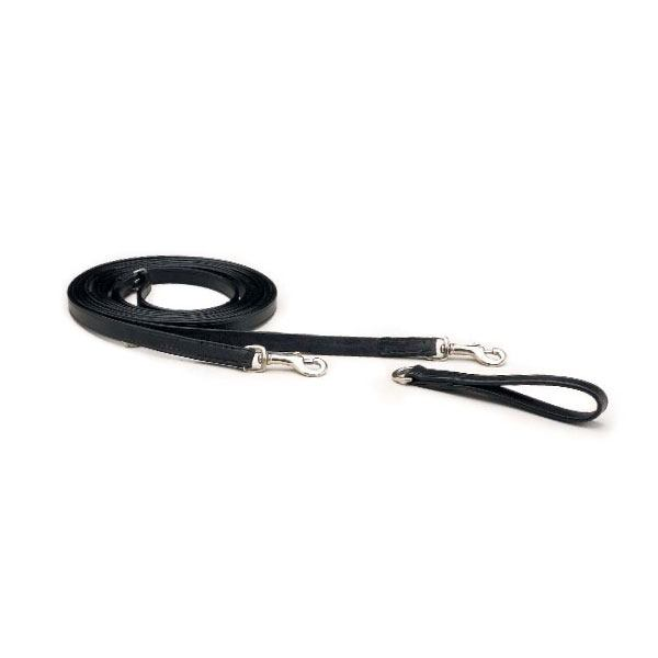 "5/8"" Plain leather draw reins"
